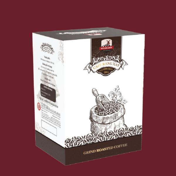 cà phê bazanland rang xay