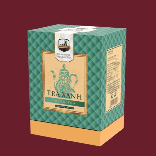 trà xanh bazanland 1