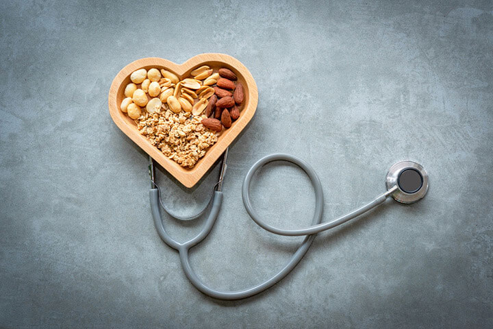 Hạt dinh dưỡng tốt cho tim mạch