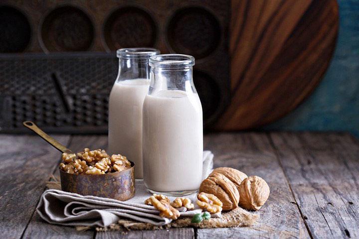 Sữa làm từ hạt óc chó đem lại thức uống thơm ngon dinh dưỡng