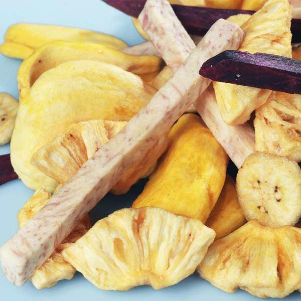 các loại trái cây sấy khô