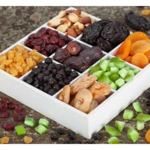 hộp đựng trái cây sấy