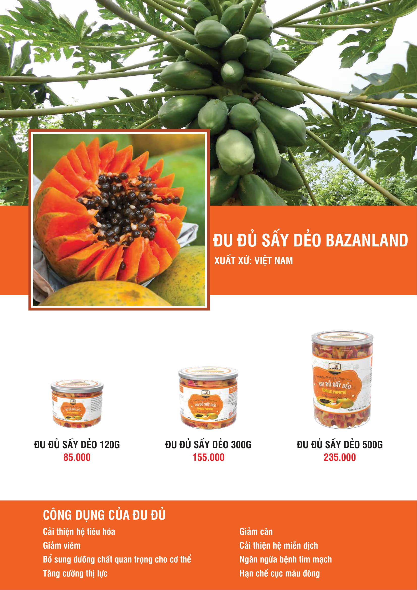 bảng giá bazanland t11 23