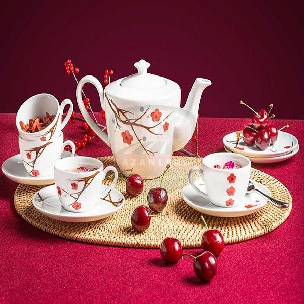 bộ ấm trà sứ tặng tết