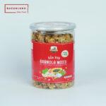 Hộp sản phẩm hạt hỗn hợp Granola mixed nuts Bazanland