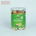 Hộp sản phẩm hạt hỗn hợp Green mixed nuts Bazanland