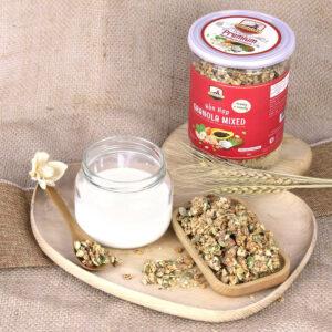 Granola bổ trợ dinh dưỡng cho trí não