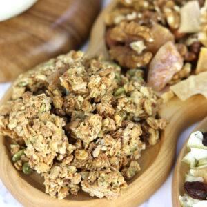 Granola cung cấp chất béo có lợi cho tim mạch