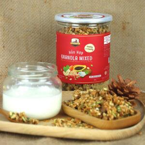 Granola giúp hỗ trợ cho người ăn kiêng không tăng cân