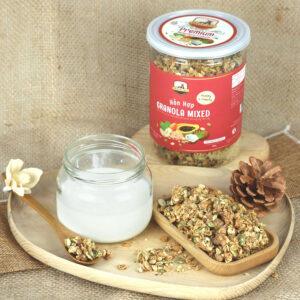 Granola giúp hạn chế các bệnh nguy hiểm