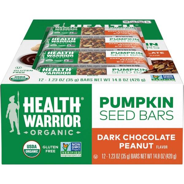 thanh protein giảm cân Health warrior organic