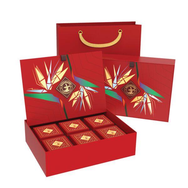 hộp quà tết các loại hạt Best Wish
